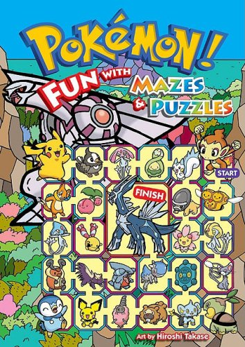 Read Online Pokémon: Fun With Mazes & Puzzles PDF