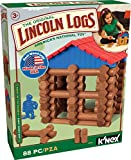LINCOLN LOGS – Lake Union Lodge – 88 Pieces – Ages 3+ – Preschool Educational Toy