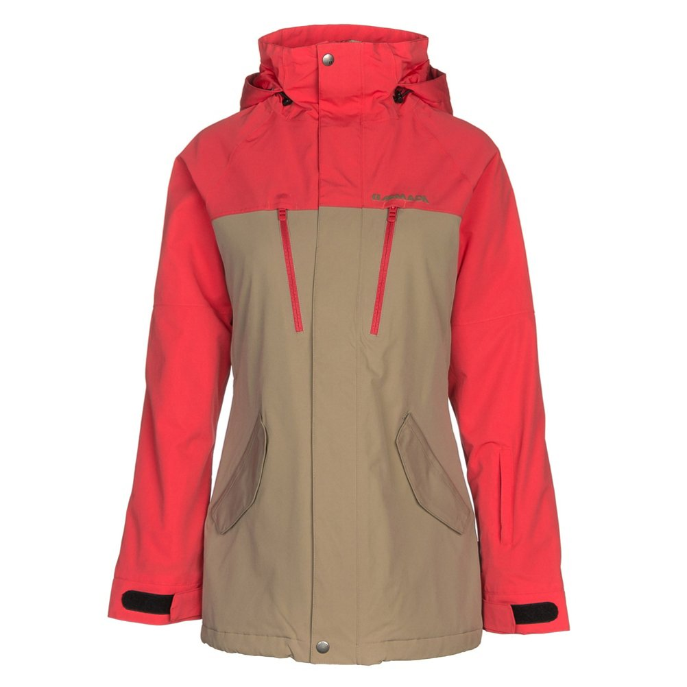 Armada Stadium Insulated Jacket - Women's Khaki, M by Armada