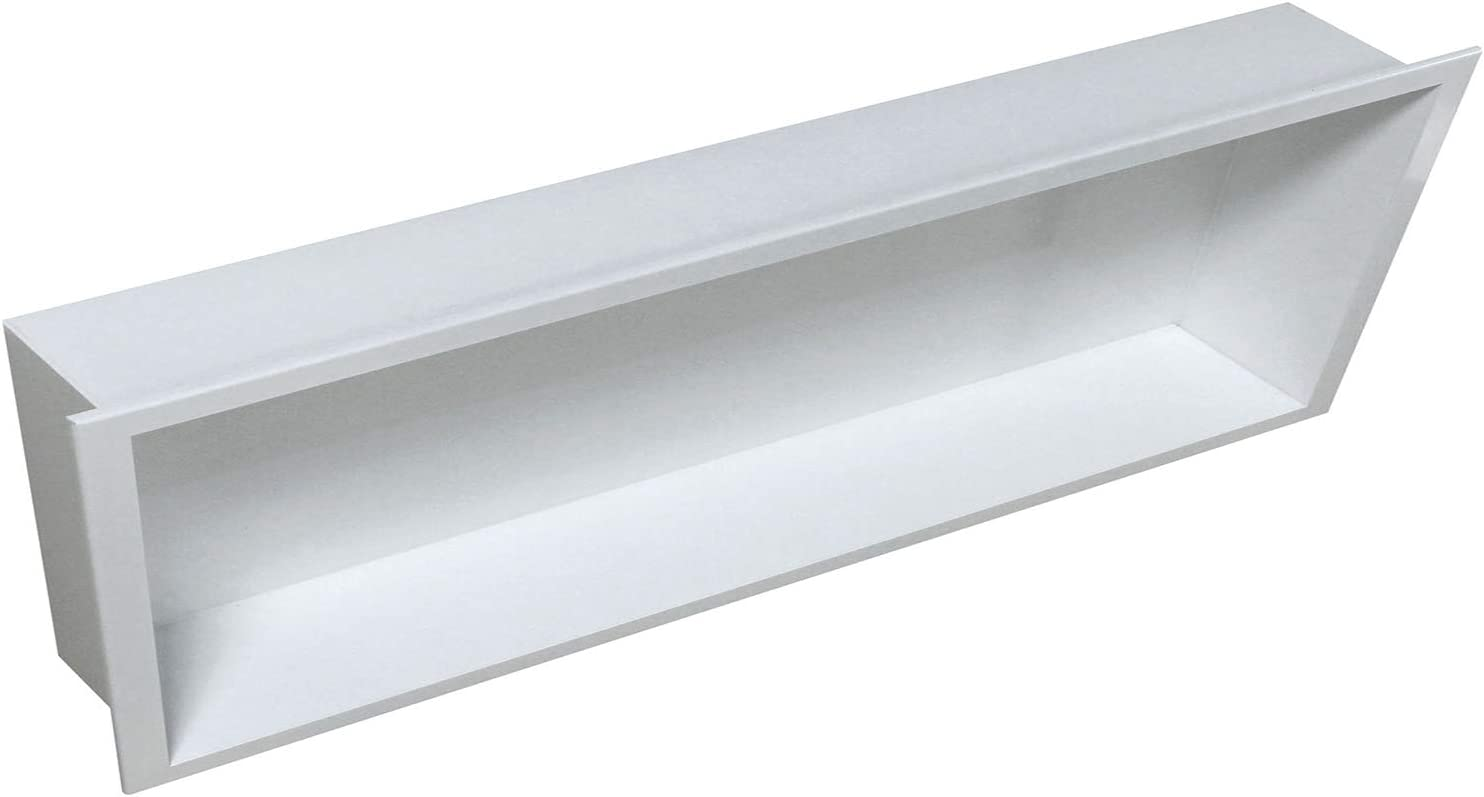 Couleur:Blanc Niche de rangement /à encastrer BERNSTEIN BS156010-15 x 60 x 10 cm couleur s/électionnable