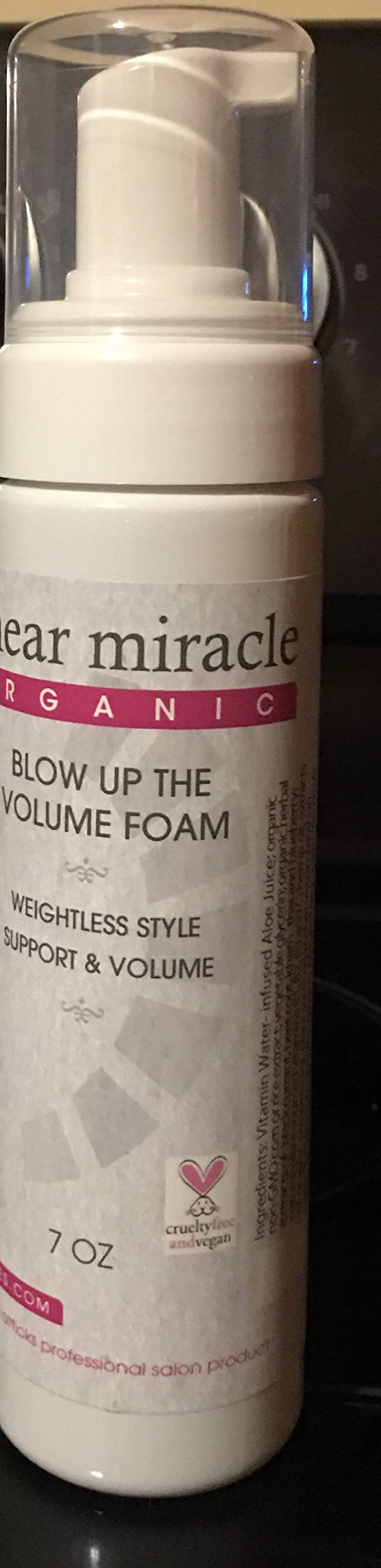 Blow up the Volume Foam- Adds Volume- Gluten Free- Vegan- Alcohol Free