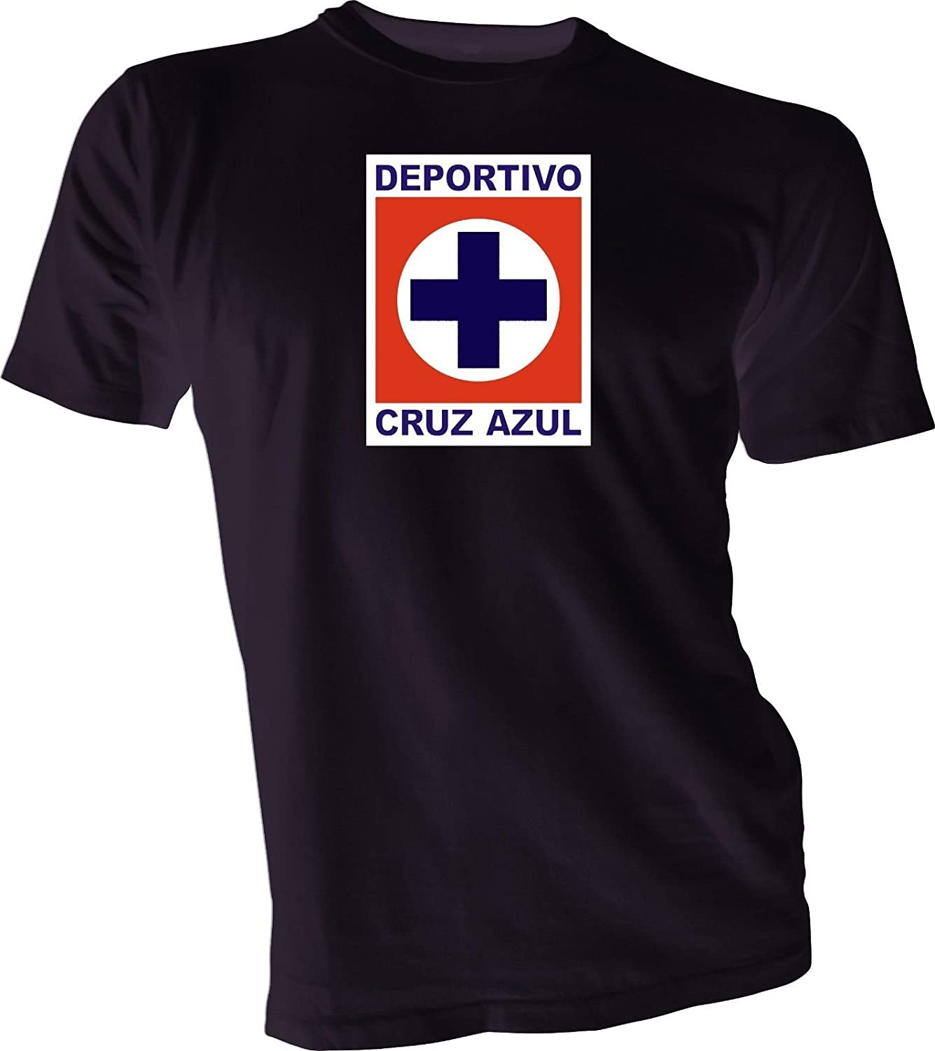 Amazon.com : DEPORTIVO CRUZ AZUL La Maquina Mexico Soccer Futbol Black T-SHIRT Camiseta NEW s : Sports & Outdoors