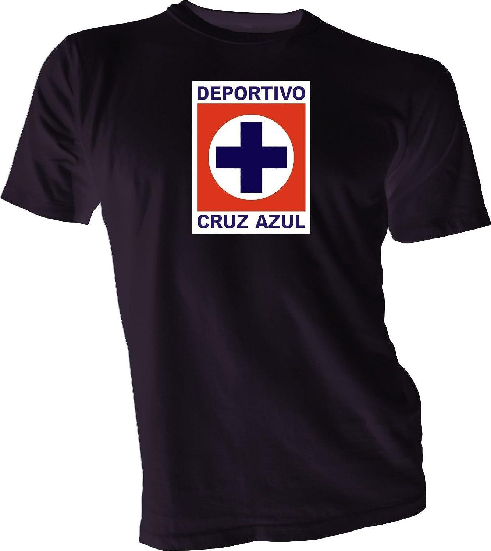 8e6763a530f Amazon.com   DEPORTIVO CRUZ AZUL La Maquina Mexico Soccer Futbol Black T- SHIRT