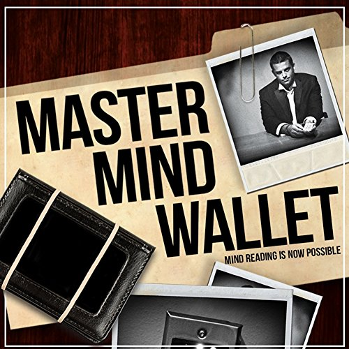 Mind Reading Magic (Magic Makers Mastermind Wallet - The Ultimate Mind Reading Device)