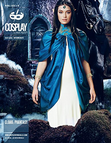 McCalls Cosplay Ladies Sewing Pattern 2092 Cloak Phantasy Capes
