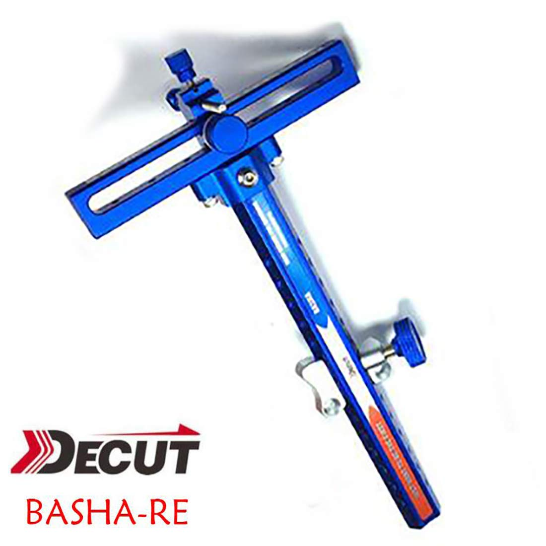 DECUT 1 pin Recurve Bow Sight Aluminum Alloy Basha Bow Sight Bow Aim Point Competition Athletic Long Arm Fine-Tuning Sighting
