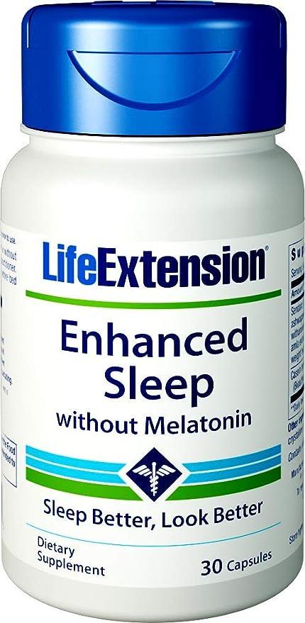 Mejorado Sueño Natural (Sin Melatonina) 30 Cápsulas