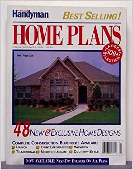 The Family Handyman Home Plans Volume 15 Number 1 Eric