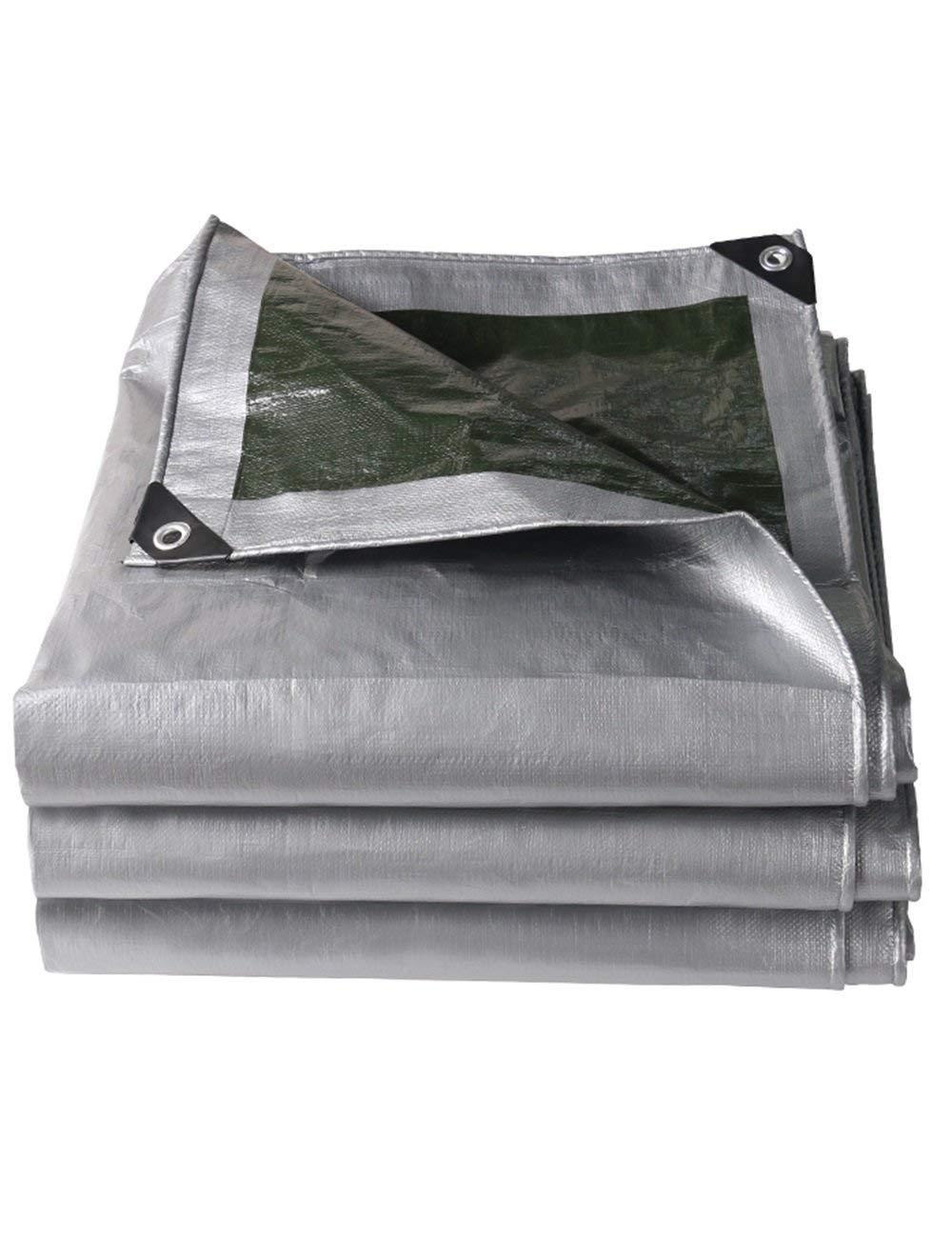 Fonly Tente imperméable à l'eau extérieure campante argentée de Tente d'ombre de bÂche imperméable