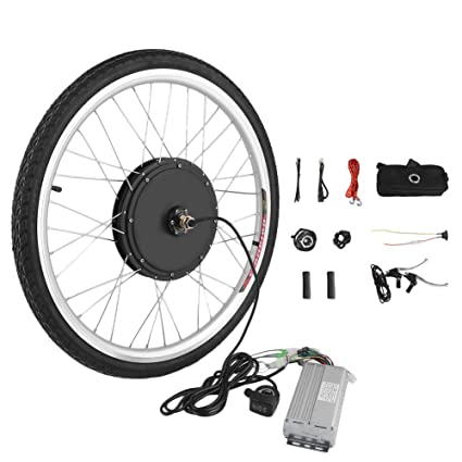 48v 1000w 26inch Hight Speed Scooter Electric Bicycle E-bike Hub Motor Conversion Kit In Short Supply Lcd Electric Vehicle Parts Atv,rv,boat & Other Vehicle