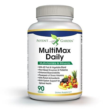 Amazon.com: Daily + Multivitamínico Mineral para los hombres ...