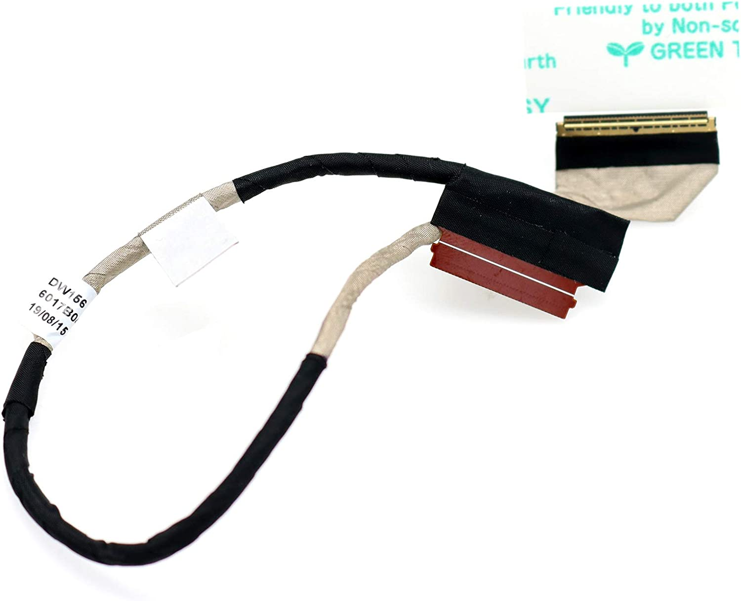 Deal4GO 40 pin DW156 Lvds LCD Display Cable Video Ribbon Connector for HP Envy 15-J 15-J000 15-J100 15t-J000 M6-N 15T-J 15-J105TX 720536-001 6017B0416401