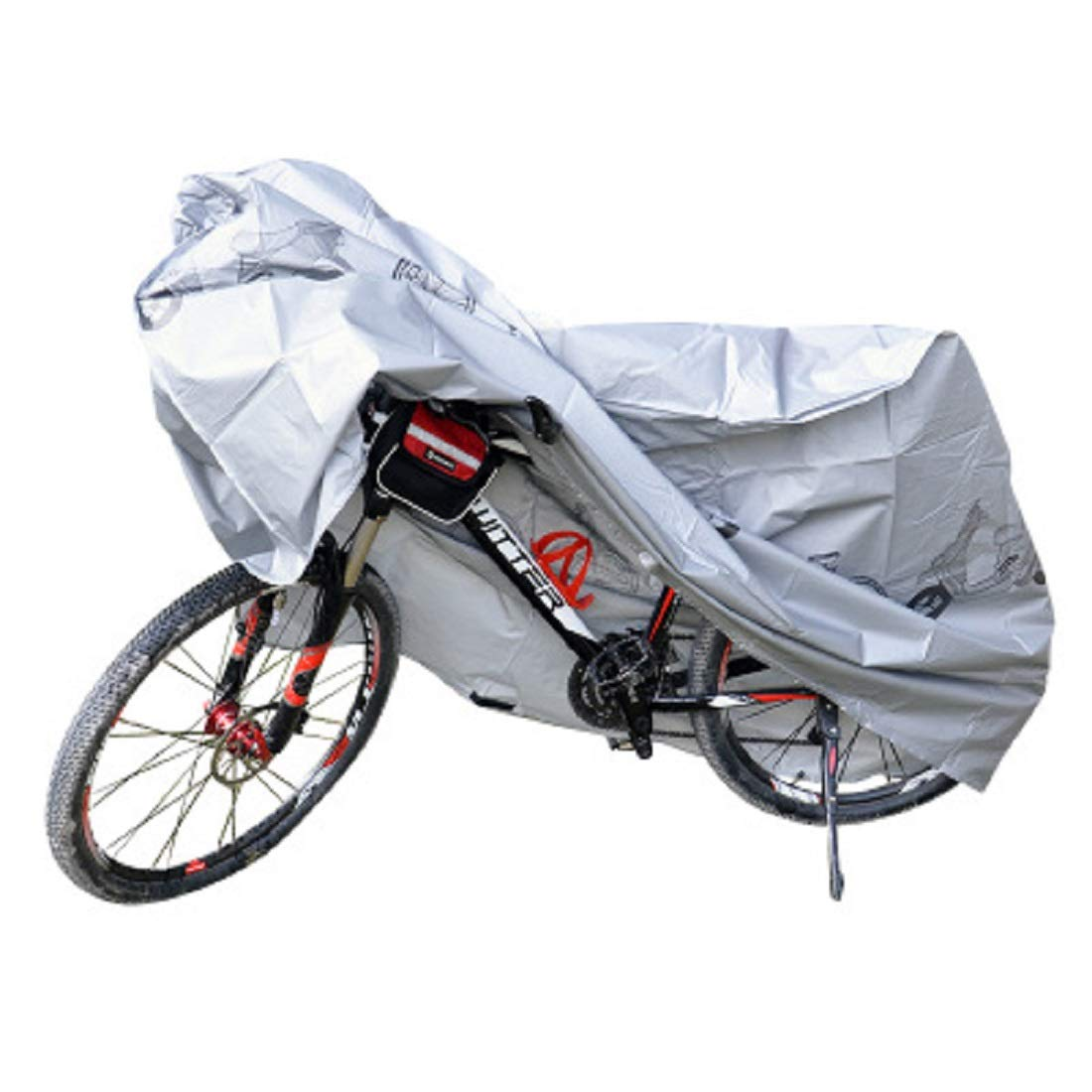 Large Capacity Bike Cover Waterproof Bicycle Covers Outdoor Rain Protector for 3 Bikes-dustproof and Sunscreen