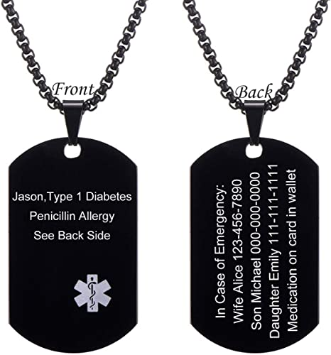 jfn5Z NEVER NOT THINKING OF YOU DOG TAG PENDANT NECKLACE FREE CHAIN