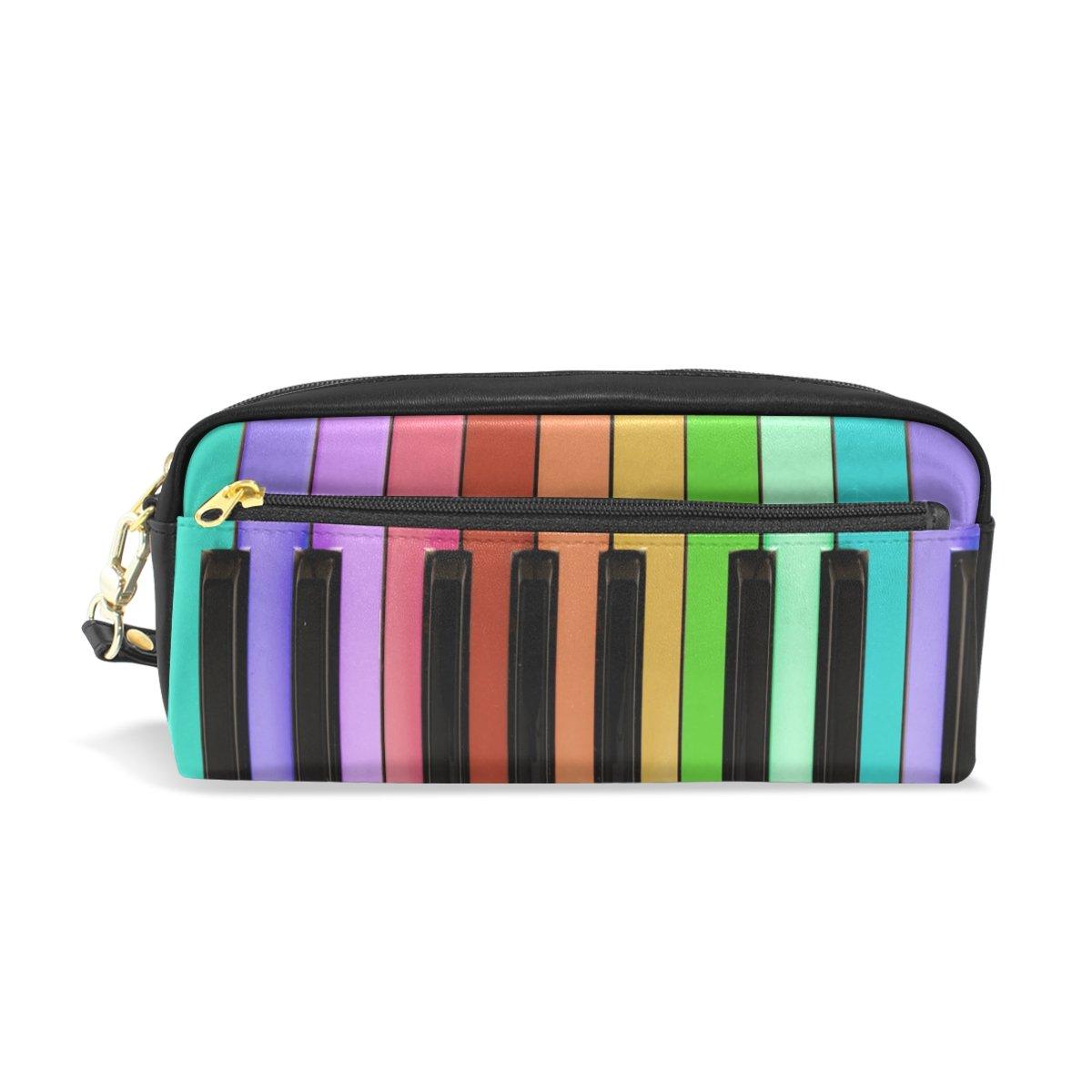 Handtasche Mädchen Geldbörse Klaviertasten Muster Polyurethan-Leder 3 Farben