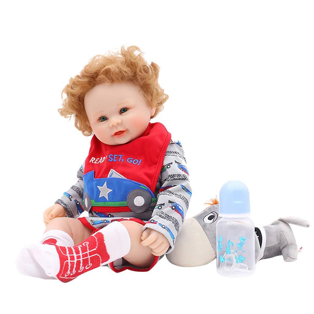 solo cómpralo KESOTO Adorable Muñeca Reborn de Silicona Completa Recién Nacido Nacido Nacido Bebé Niña - 50 cm - 2  opciones a bajo precio