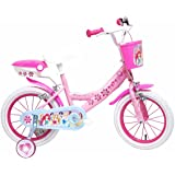 Disney Girl's Princess Wheel - Pink, Medium/14-Inch