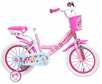 f4e382d4ad9a3 Disney Princesse Vélo Mixte Enfant, Rose, 14