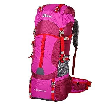 Mochilas montaña Bolsa de alpinismo al aire libre mochila de viaje senderismo sistema de transporte profesional