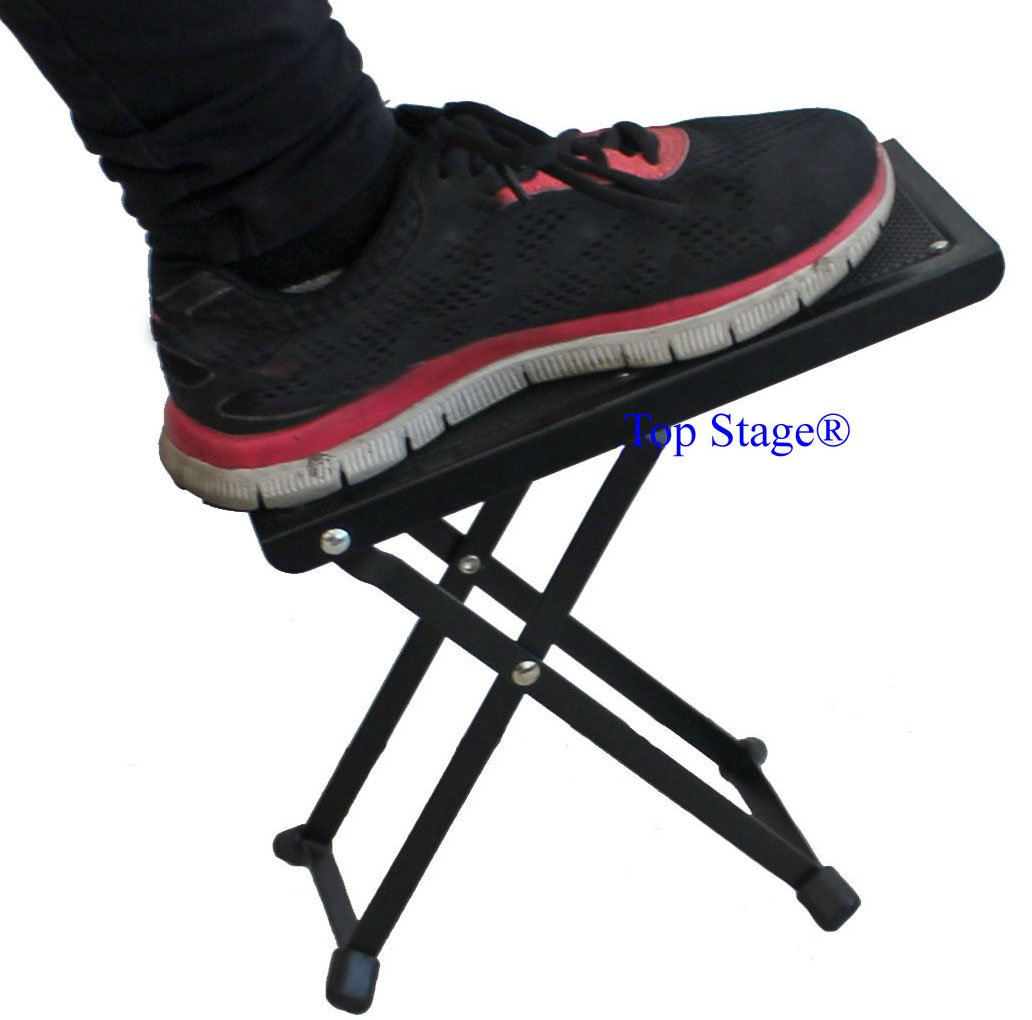 Top Stage Pro Model Guitar Foot Stool//Foot Rest Guitarist