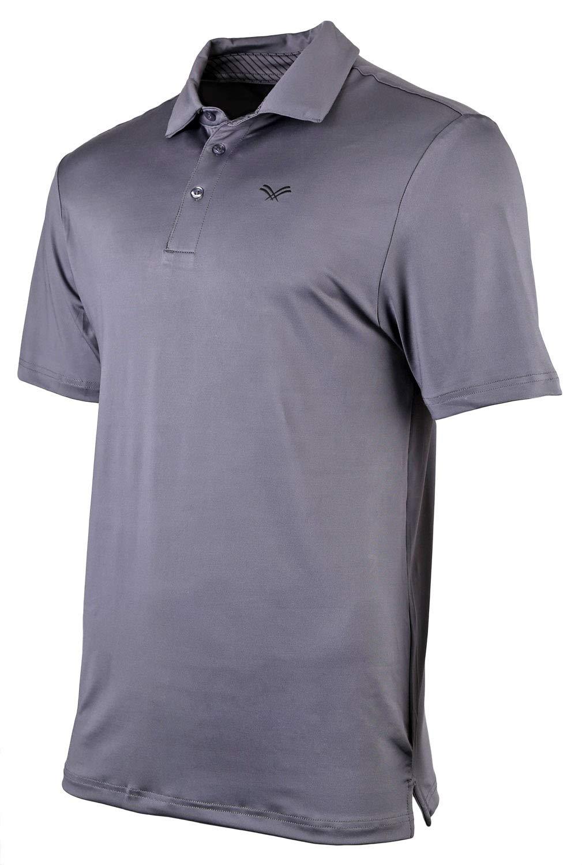 004bcee1b Urban Fox Golf Shirts for Men - Short Sleeve Performance Polo Shirts for  Men
