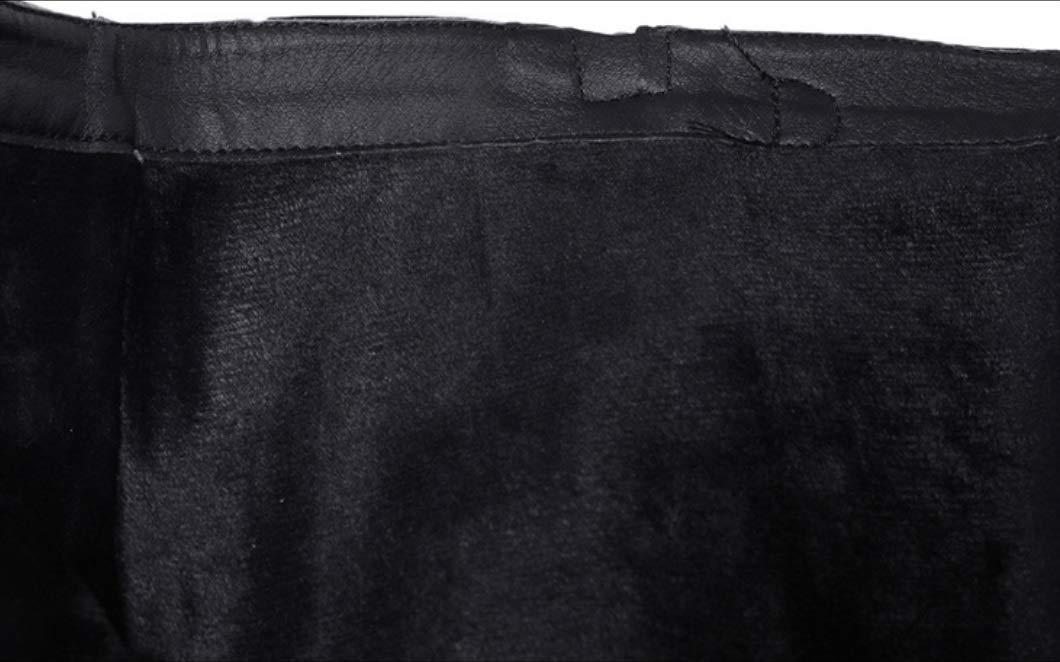 SHANGWU Frauen Kalb Biker Biker Biker Stiefel Kniehohe Lange Stiefel Flache Martin Stiefel Größe Griffsohle Rutschfeste Samt warme Stiefel Militärkampf Armee Stiefel 3447dc