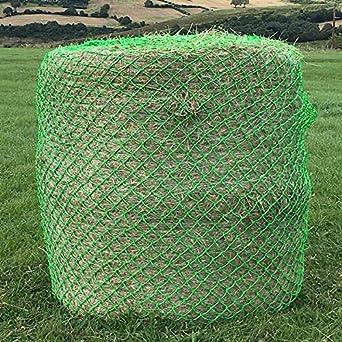 Elico Wild Boar Bale Net (grande) Verde - para uso en Horse Pony Campo paddock para pacas de heno