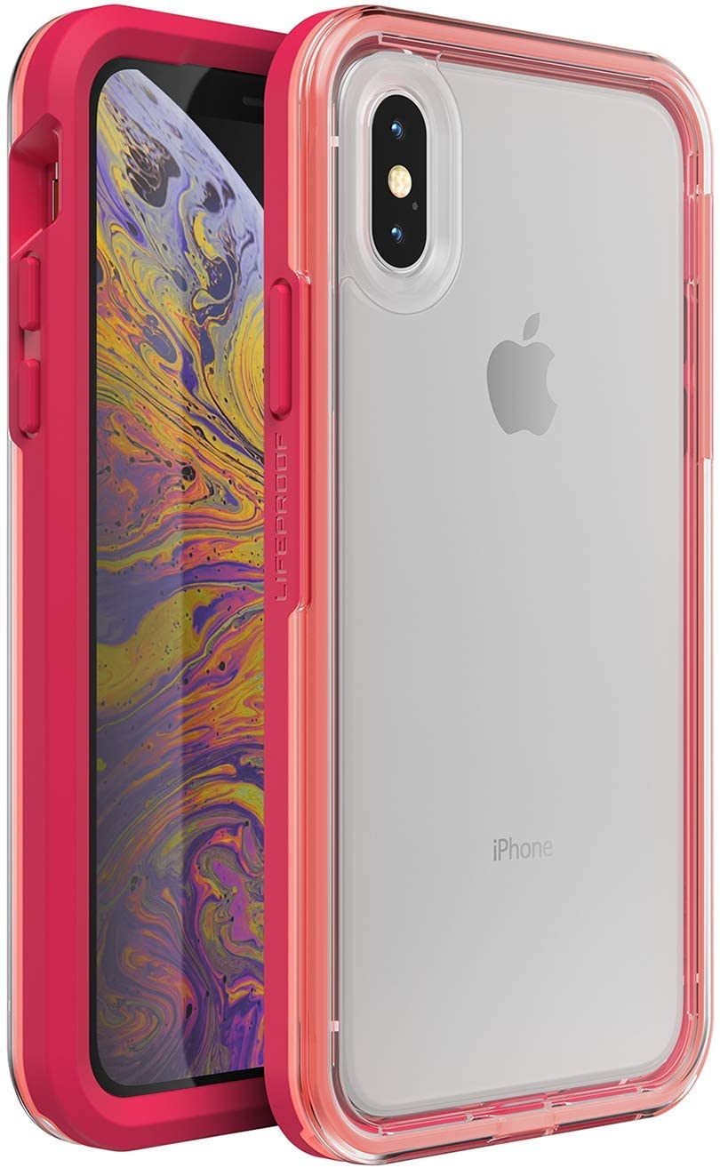 LifeProof SLAM Series Case for iPhone Xs & iPhone X - Retail Packaging - Coral Sunset