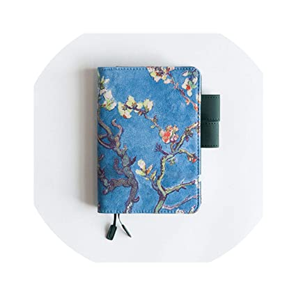 Cubierta de pintura para cuaderno de diario estándar A5 A6 ...