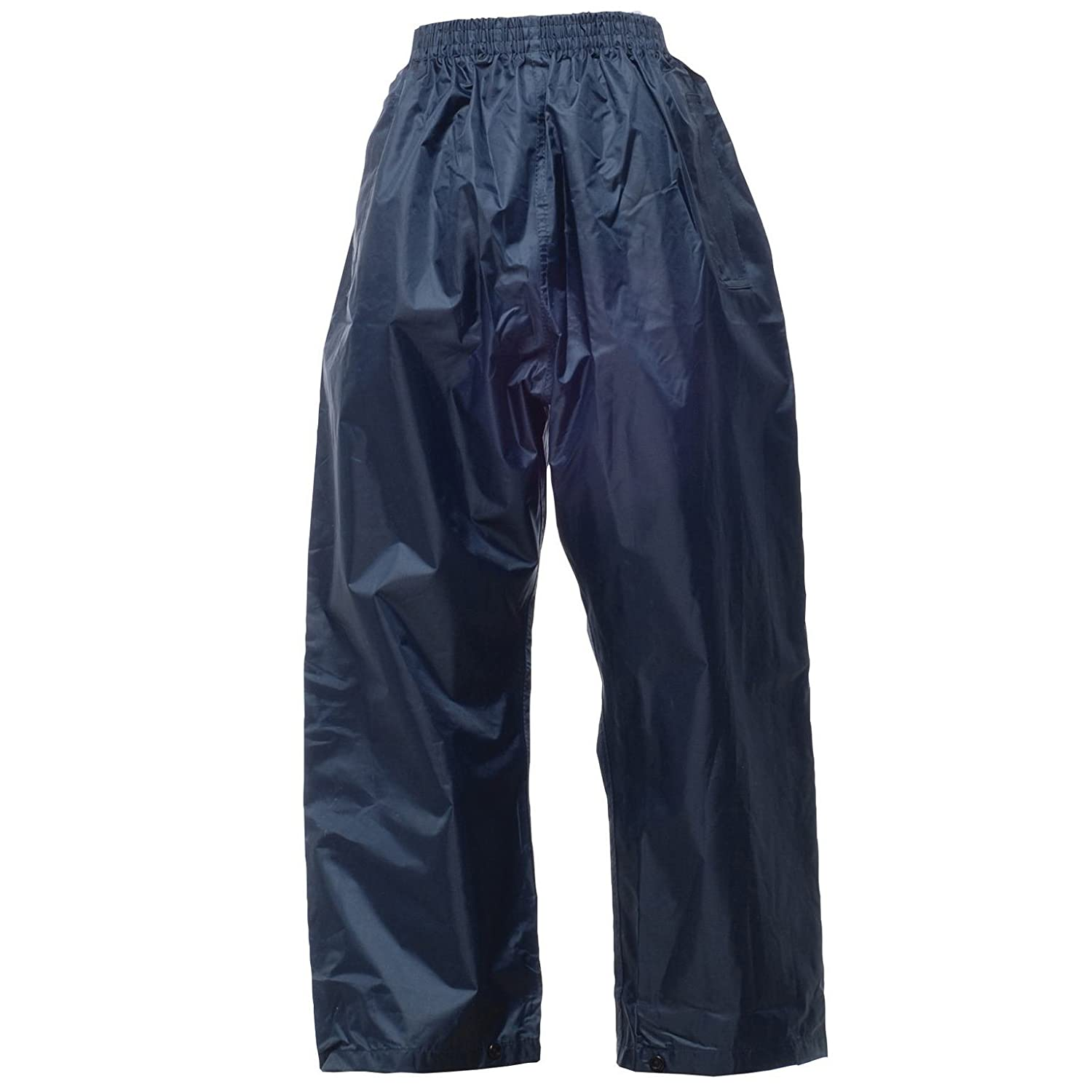 Kid's stormbreak over trousers COLOUR Navy SIZE 11 TO 12