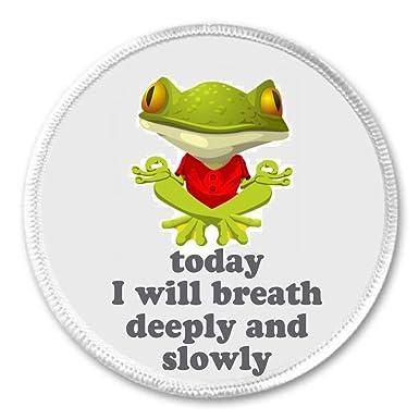Amazon.com: Hoy Me Voy aliento profundamente y lentamente 3 ...
