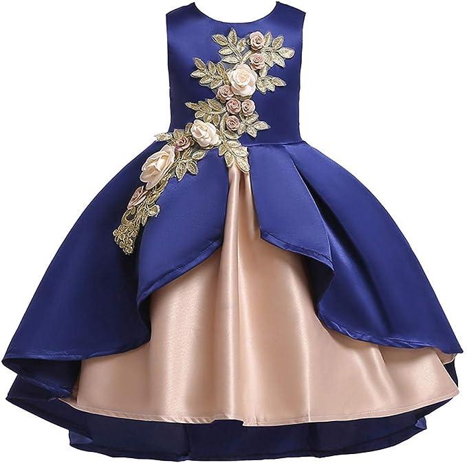 Vestiti Per Cerimonia.Topgrowth Vestito Per Cerimonie Da Bambina Elegante Ragazze Abito