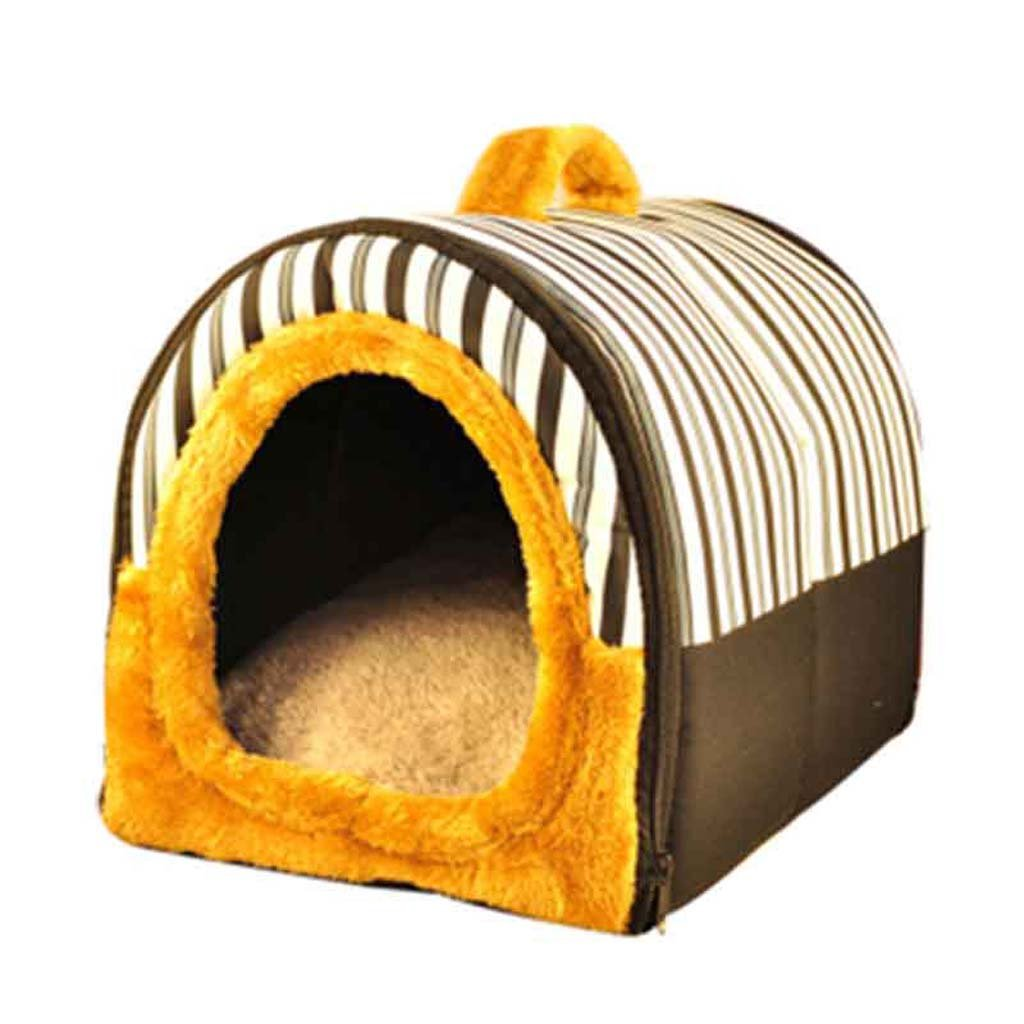 A Large A Large Pet nest Kitten puppy pet house. Removable and washable Four seasons universal Cute shape Washable Suitable for kittens and other small pets