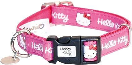 1 New Black Hello Kitty Nylon Dog Pet Leash