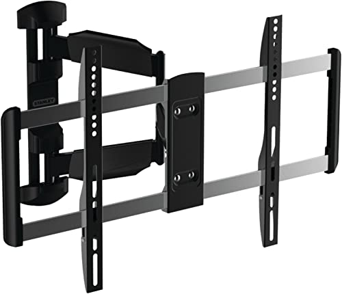 Stanley TV Wall Mount – Full Motion Articulating Mount for Large Flat Panel Television TLX-105FM , Large 37 Inch – 70 Inch