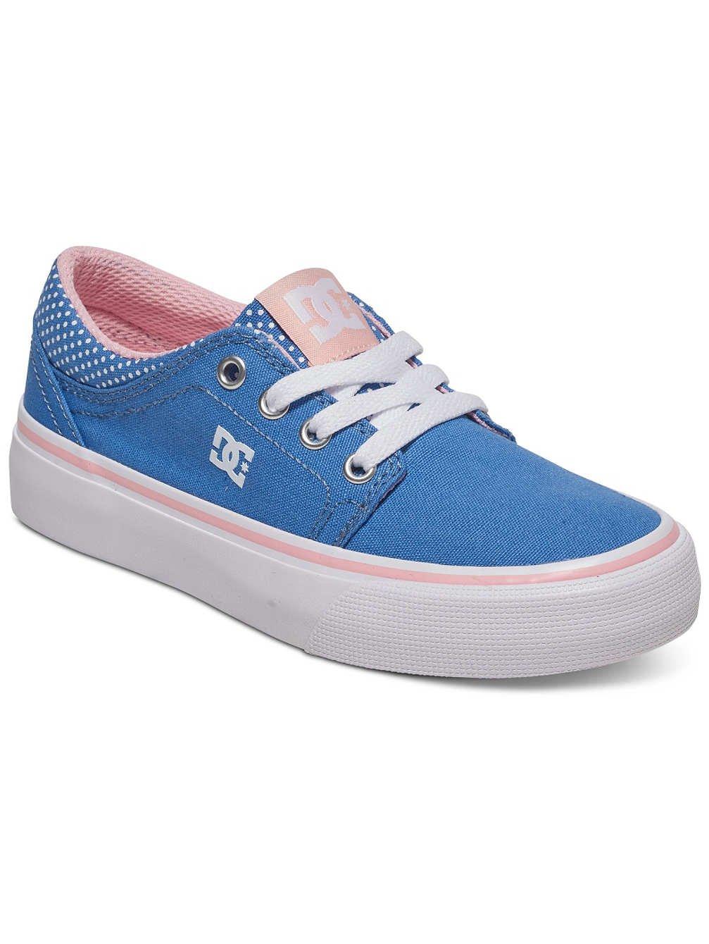 DC Shoes Trase TX Se - Botas Niñas 38 EU|Blue/White Print