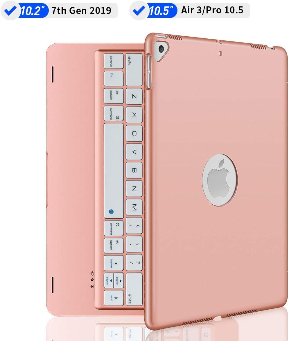 Funda Con Teclado iPad 10.2 2019/air 3 10.5/pad Pro 10.5