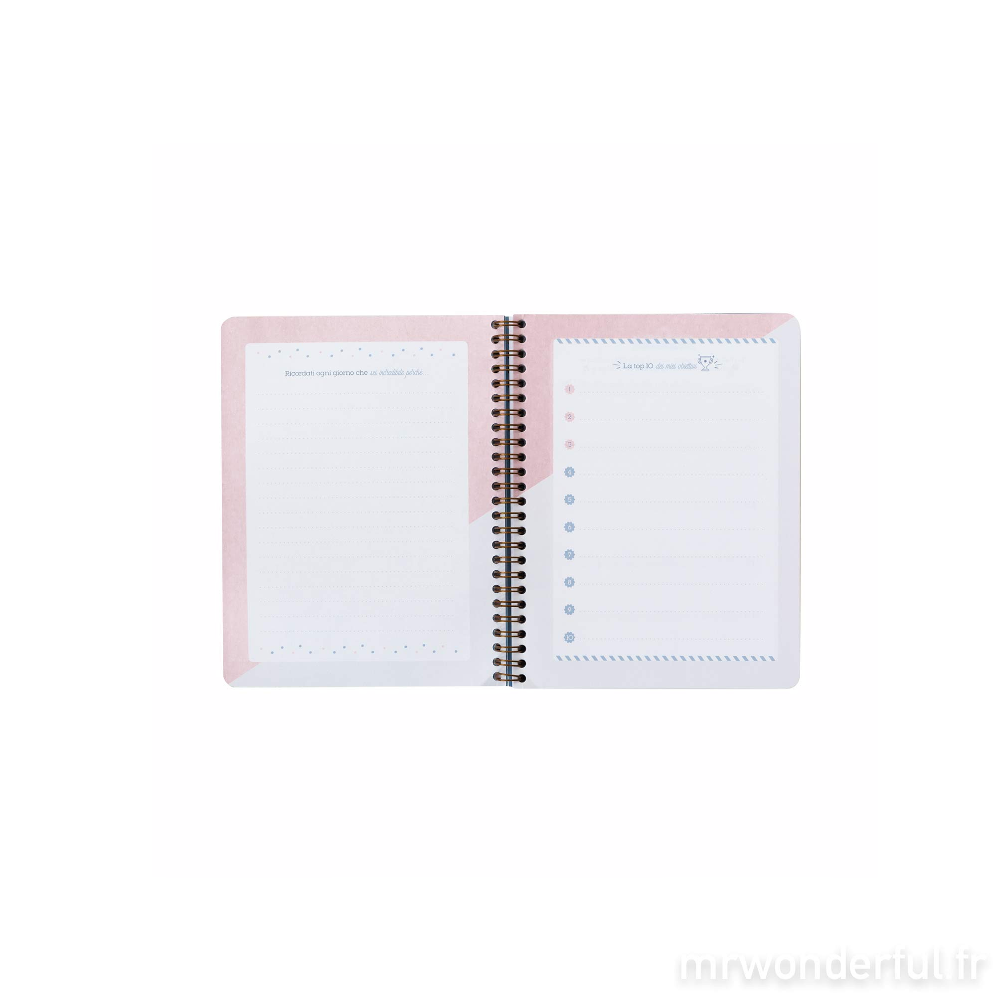 Mr. Wonderful WOA09056IT Weekly Planner Notebook by Mr. Wonderful (Image #5)
