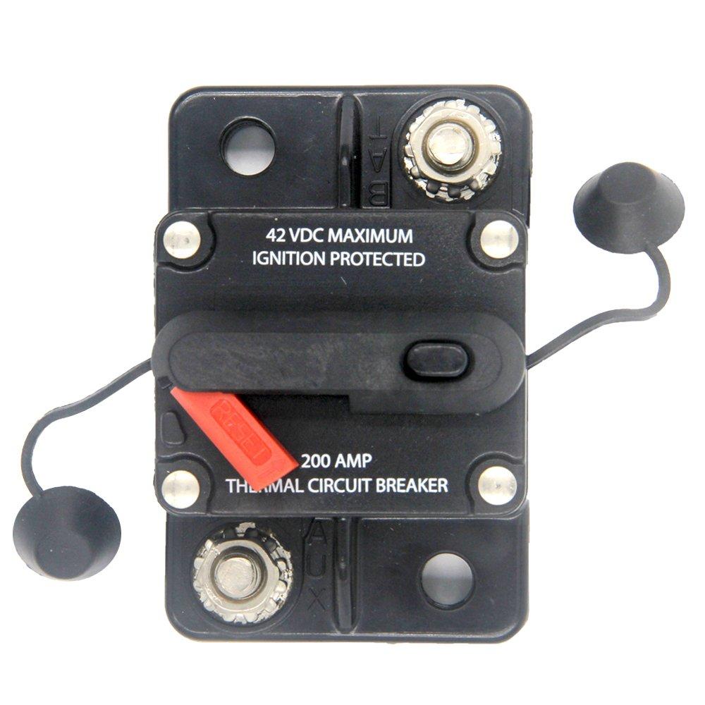 185080f011 High Amp Heavyduty Switchable Reset Circuit Breaker