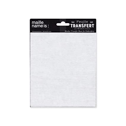 Maille name is Papel Transfer para Bordado/Patron/Patchwork 30 x 33 cm