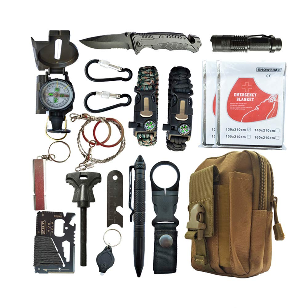 LY-DSB Toolbox Medizinische Erste Hilfe Liefert Auto Notfall Erste Hilfe EDC Camping Survival Set SOS Erste-Hilfe-Set Ausrüstungsset