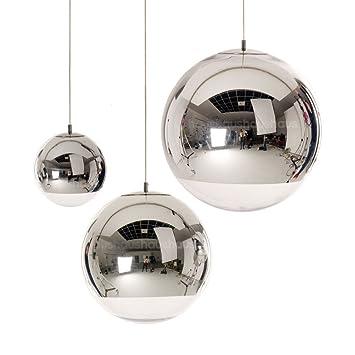 35cm Tom Dixon Chrome Glass Mirror Ball Pendant Light Bubble Ceiling L& New ~ITEM #  sc 1 st  Amazon.com & Amazon.com: 35cm Tom Dixon Chrome Glass Mirror Ball Pendant Light ...