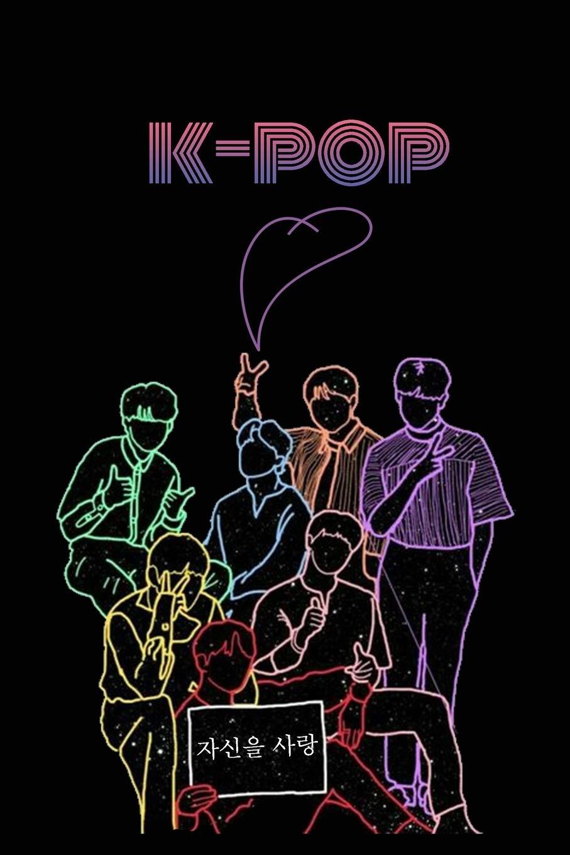 K Pop BTS Team Journal & Notebook Kpop accessories, Kpop gift ...