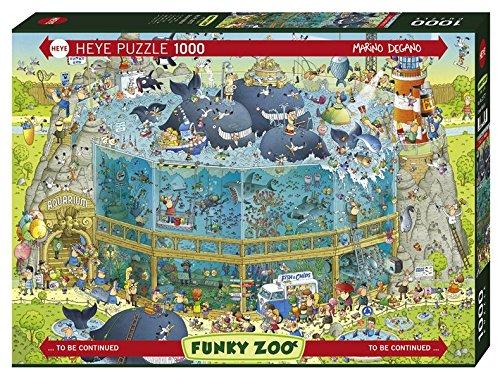 (Heye Ocean Habitat 1000 Piece Marino Degano Funky Zoo Jigsaw Puzzle)