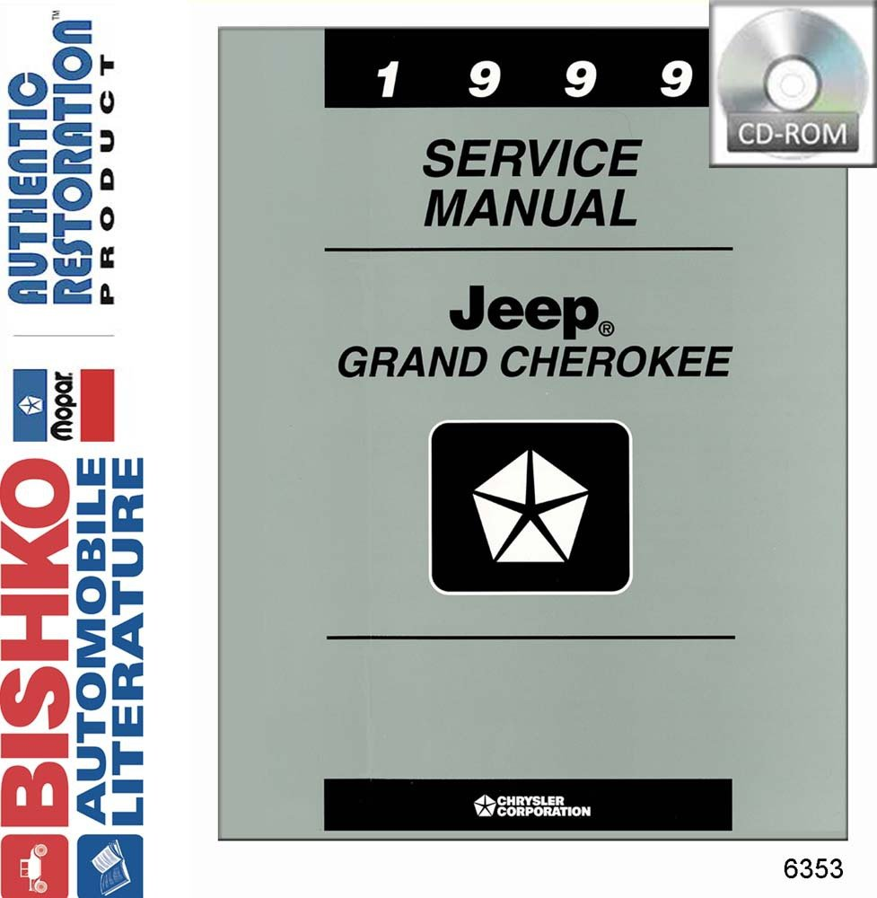 Amazon.com: 1999 Jeep Grand Cherokee Shop Service Repair Manual CD Engine  Drivetrain Wiring: Automotive
