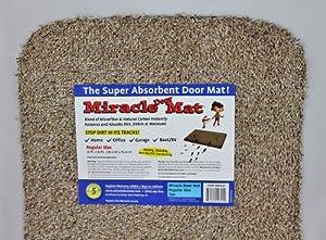 """Amazon.com: Miracle Door Mat (20""""x30"""", Tan): Sports & Outdoors"""