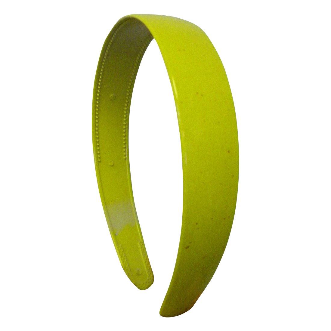 Yellow 1 Inch Plastic Hard Hea...