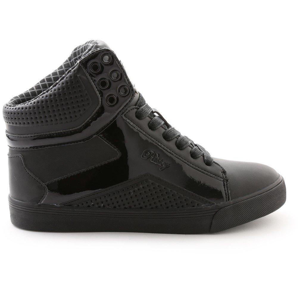 Pastry POP Tart Grid Adult Sneaker B01LWX2BII Size 7.5|Black/Black