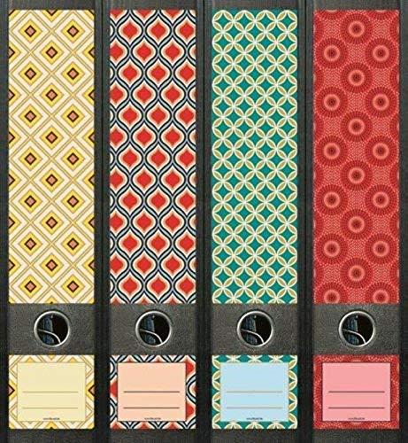 File Art AJ474 Design Etiketten Ordnerr/ückenschilder