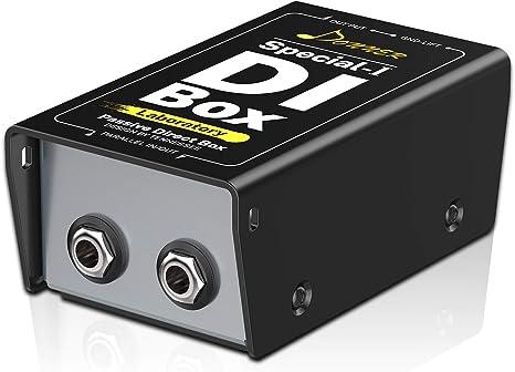 Donner Caja DI (Pasiva) DI-BOX Directa para XLR Balanceado y Desbalanceado: Amazon.es: Instrumentos musicales